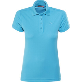 Maier Sports Ulrike Maglietta polo Donna, hawaiian ocean